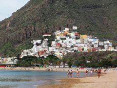 Las Teresitas - Der einzige gute Strand auf Teneriffa! (Ohne Wellen)