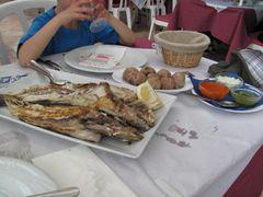 Los Abrigos - Restaurant El Picoteo Es gab immer frischen Fisch.