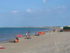 Strand am Ebrodelta