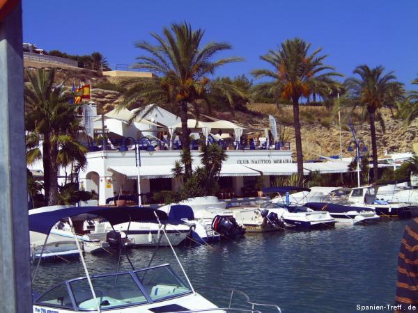 Hafen Moraira