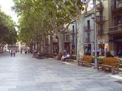 Plaza de la Rambla in Figueres