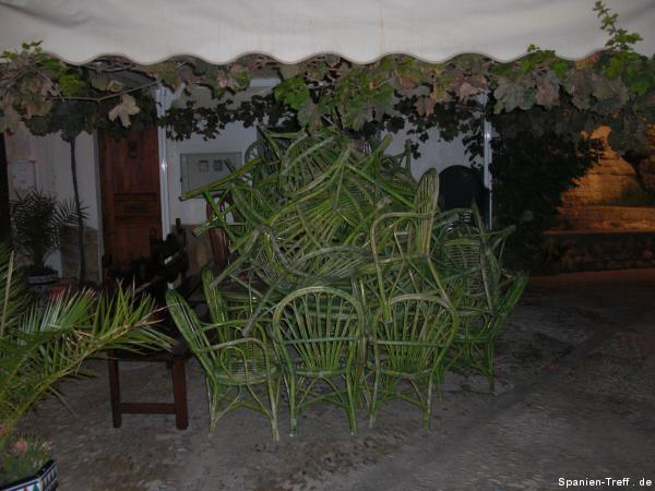 Stuhl-Stapel