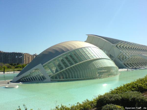 L'Hemisfèric - IMAX-3D-Kino, Planetarium und Laserium