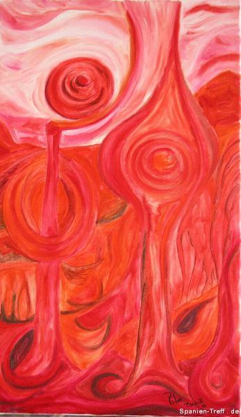 Entdeckungen2.Öl auf Leinwand 30/50Juli 2003