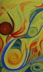 Illusionen2.aÖl auf Leinwand 30/50Dezember 2003