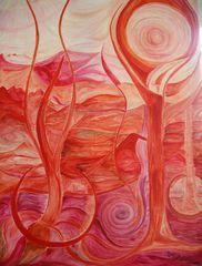Entdeckungen1.Öl auf Leinwand 65/92Juni 2003