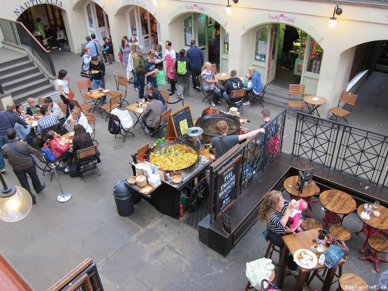 Paella im Covent Garden - London