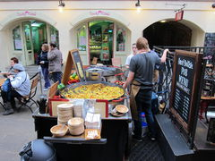 Paella im Covent Garden - London