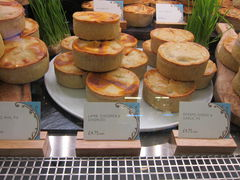 Chorizo Pie (Kuchen) bei Harrods in London