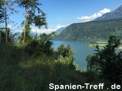 Blick auf den Alpnachersee (Vierwaldstättersee)