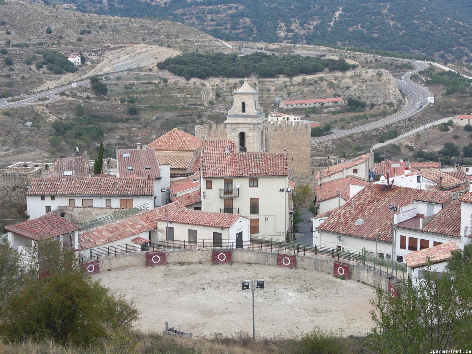 Stierkampfarena in Morella