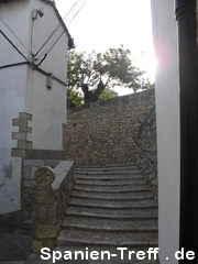 Treppe in Morella