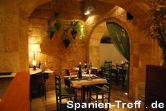 Kellerrestaurant in Spanien
