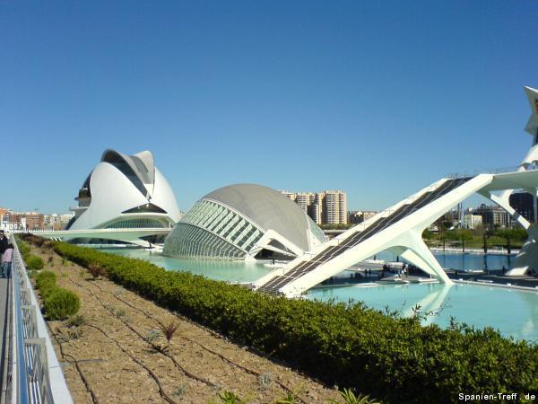 Valencia: Ciudad de las Artes y de las Ciencias
